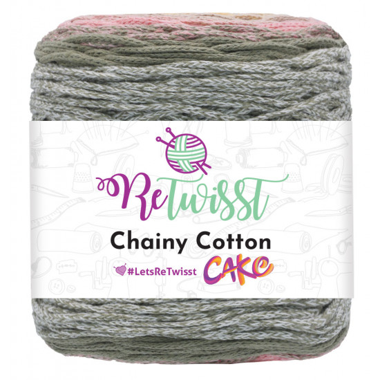 Chainy Cotton Cake Soft Colours