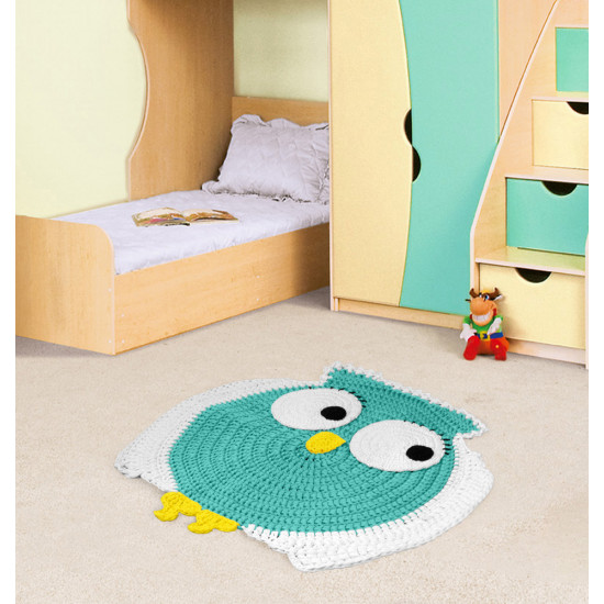 DIY Owl Rug Kit
