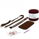 DIY Bag With Faux Leather Accessoires Kit