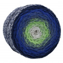 Chainy Cotton Cake Azurite Stone