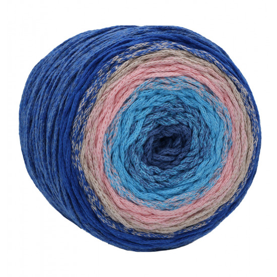 Chainy Cotton Cake Cosmos Blue