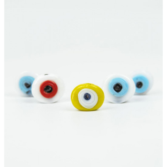 Mixed Color Evil Eye Bead 5-Pack