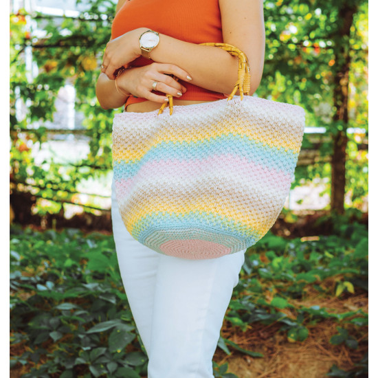 Casual Bag with Chainy Cotton Cake