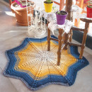 DIY Popcorn Star Rug Kit